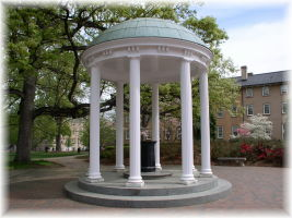 The Old Well on UNC Chapel Hill campus
